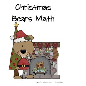 Christmas Bears Math Fun!
