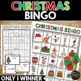 Christmas Bingo {25 Different Bingo Cards}