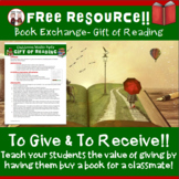 FREE Christmas Book Exchange Activity to Use with Students