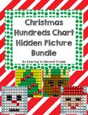 Christmas Bundle Hundreds Chart Hidden Picture Sets