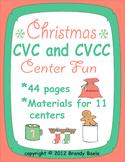 Christmas CVC & CVCC Center Fun