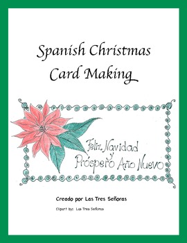 Christmas Card Making in Spanish