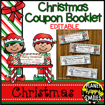 Christmas Class Coupon Book