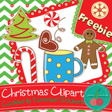 Christmas Cookies & Other Yummies- Christmas Clip Art - FR