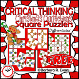 Christmas Confections Square Puzzlers