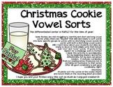 Christmas Cookies {Vowel Sort}