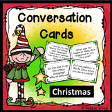 Conversation Cards:  Christmas (Includes Directions for Mi