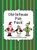 Christmas Fun Pack for K~3