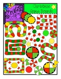 Christmas Game Boards {Creative Clips Digital Clipart}