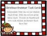 Christmas Grammar Task Cards