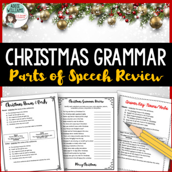 Christmas Grammar Practice and Review