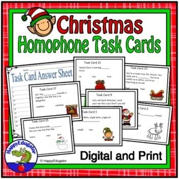 Christmas Homophones