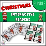 Christmas Interactive Easy Reader Books - BUNDLE