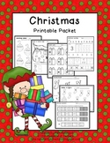 Christmas Math & Literacy {PRINT IT NOW}