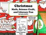 Christmas Activities {Math, Science Craft, and Literacy Fu