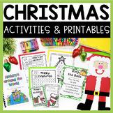 Christmas Math and Literacy Fun