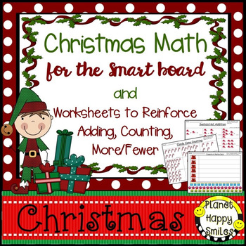 Christmas Activity ~ Christmas Math for the Smart Board an