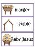 Christmas Nativity Vocabulary Word Wall