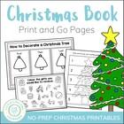 Christmas No Prep Activities for Math and English - US and