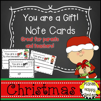 Planet Happy Smiles Christmas Note Cards
