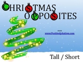 Christmas Opposites: Tall/Short