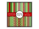 Christmas Paper Collection {12x12 Digital Papers for Comme