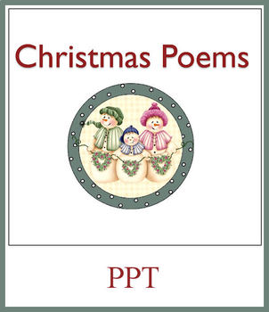 Christmas Poems for Elementary PowerPoint