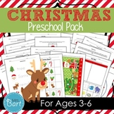 Christmas Preschool Pack- 48 PAGES!
