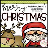 Christmas: Preschool, Pre-K and Kindergarten Resources