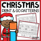 Christmas Printable Patterns Packet