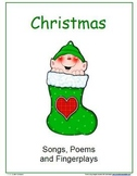 Christmas Songs, Poems and Fingerplays