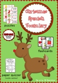 Christmas Spanish Vocabulary Activities
