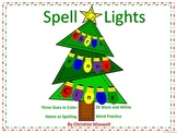 Christmas Spell Lights for Names or Words