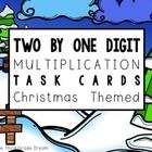 Christmas Themed Multiplication Task Cards Freebie