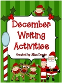 Christmas Themed Writing Activities for December