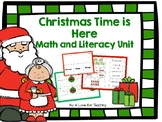 Christmas Time is Here Math and Literacy Unit
