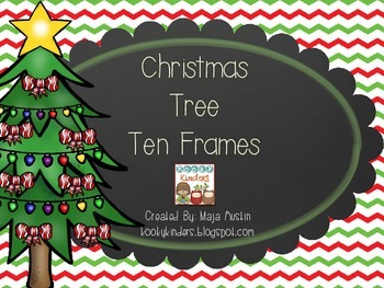 Christmas Tree Ten Frames
