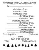 Christmas Trees: An Adjective Poem