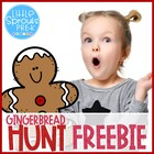 Christmas Unit - Gingerbread Man Hunt - Preschool/Pre-K/Pr