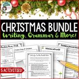 Christmas Writing & Grammar Bundle - 6 different activities!