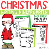 Christmas Writing for Kinders