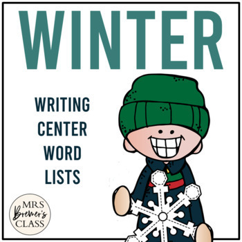 Christmas and Winter Writing Centre/Center Pages