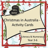 Christmas in Australia Activity Cards - literacy, numeracy