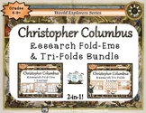 Christopher Columbus Day Research Tri-Folds & Mini Fold-Em