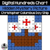 Christopher Columbus Day Ship Hundreds Chart Hidden Pictur
