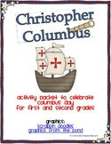 Christopher Columbus Mini Packet Guided Reading Intervention