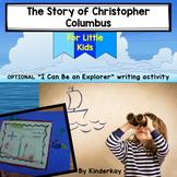 Christopher Columbus story for little kids