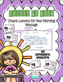 Chunks We Know - Morning Message Lessons-Common Core