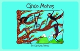Cinco Monos Saltan {e-book and song (Mp3)}