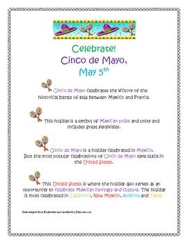 Cinco de Mayo Activity Set